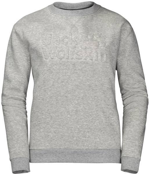 Jack Wolfskin Winter Logo Sweatshirt W Light Grey