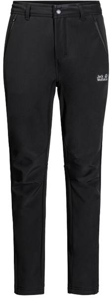 Jack Wolfskin Zenon Softshell Pants Men Black