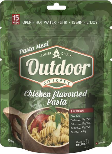 Leader Outdoor Chicken Flavoured Pasta