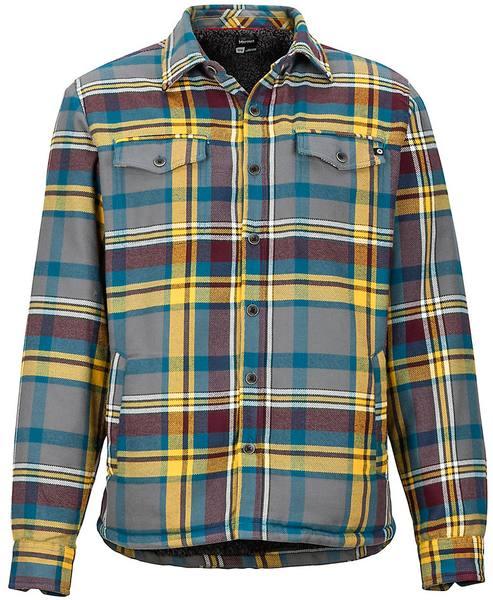 Marmot Ridgefield Ls Flannel Shirt Teräs