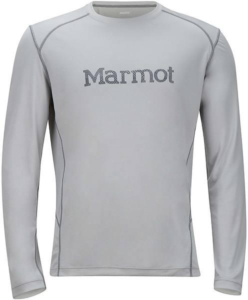 Marmot Windridge With Graphic Ls Steel