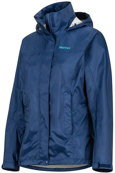 Marmot Women'S Precip Eco Jacket Navy