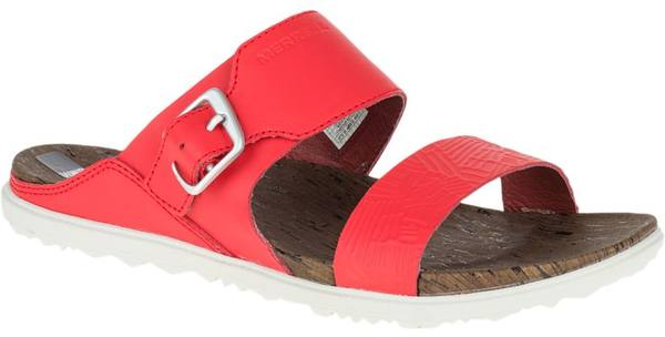 Merrell Around Town Buckle Slide Print Red