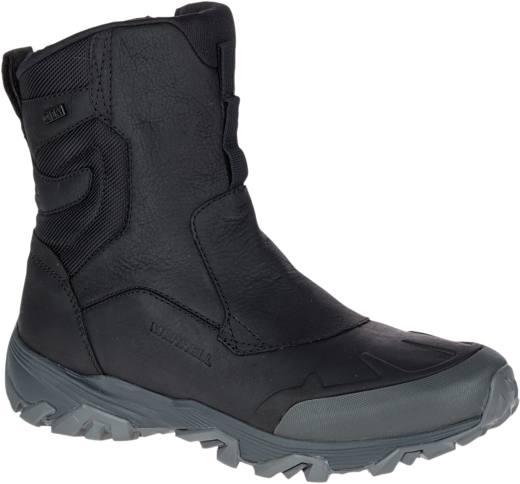 """Merrell Men'S Coldpack Ice+ 8"""" Zip Polar Waterproof Black"""