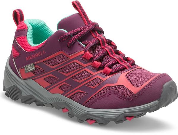 Merrell Moab Low Kid Waterproof Berry