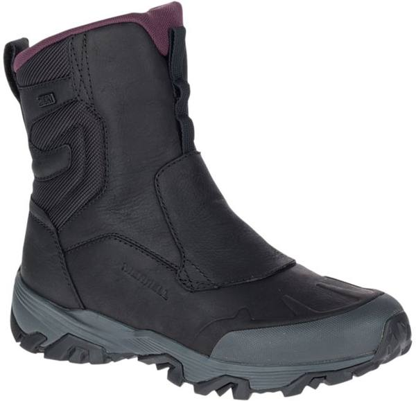 """Merrell Women'S Coldpack Ice+ 8"""" Zip Polar Waterproof Black"""