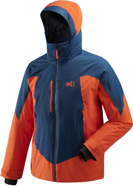 Millet Hayes Stretch Jacket Blue/Orange