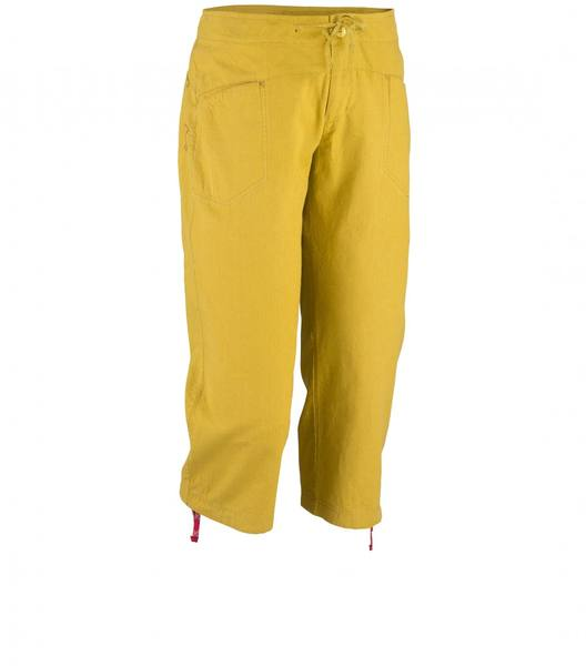 Millet Ld Rock Hemp 3/4 Pant Yellow