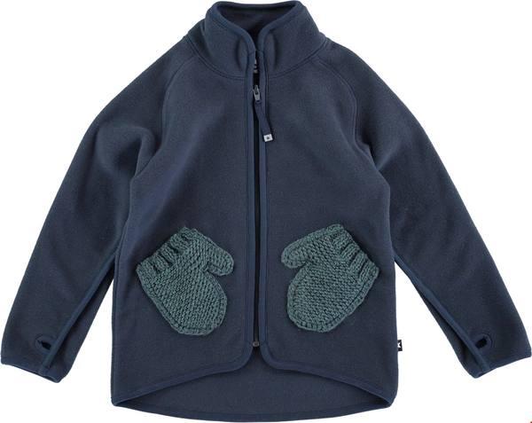 Molo Ushi Fleece Jacket Navy