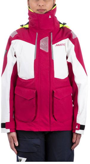 Musto Br2 Offshore Jacket Women'S Red/White