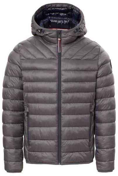Napapijri Puffer Jacket Aerons Hood Men Dark Grey