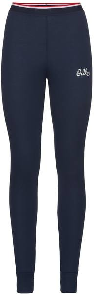 Odlo Women'S Active Warm Originals Base Layer Pants Navy