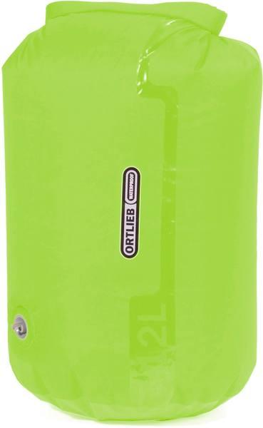 Ortlieb K2222 -Kuivapussi 12 L Venttiilillä Light Green