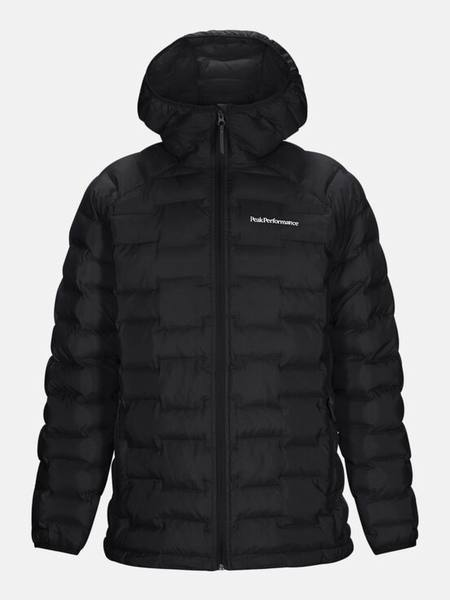 Peak Performance Argon Hooded Jacket Musta