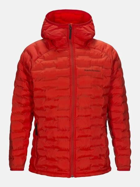 Peak Performance Argon Light Hooded Jacket Punainen