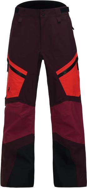 Peak Performance Gravity Pants Women Tummanpunainen