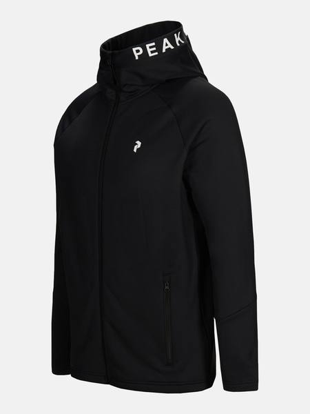 Peak Performance Rider Zip Hood Musta