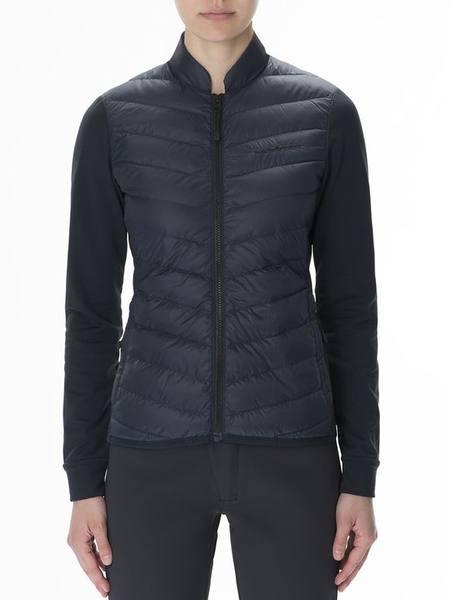 Peak Performance Women'S Frost Hybrid Jacket Dark Blue