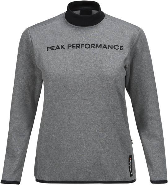Peak Performance Women'S Goldeck Crew Neck Grey
