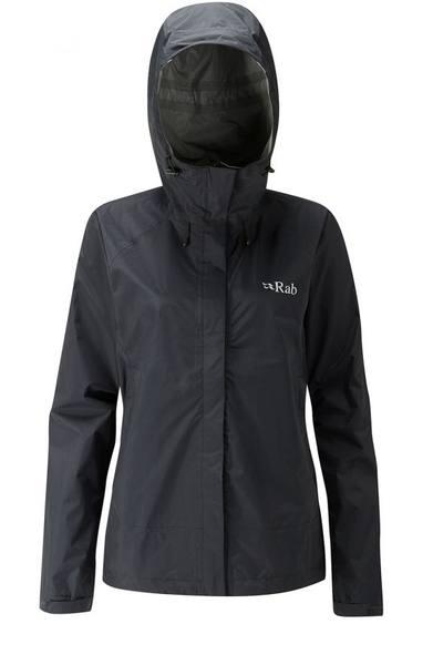 Rab Downpour Jacket Women'S Musta