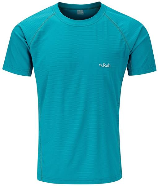 Rab Interval Tee Men Turquoise