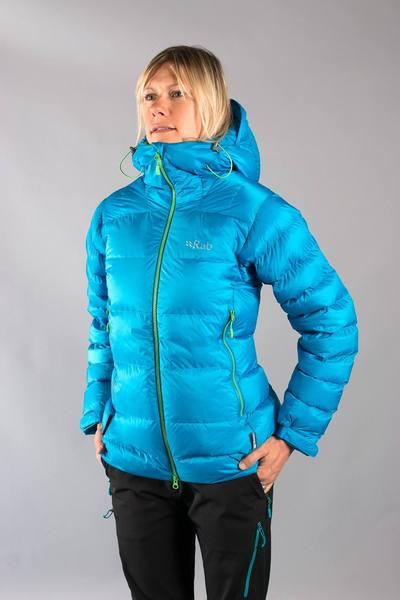 Rab Positron Women'S Jacket Turquoise