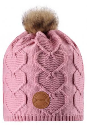 Reima Knitt Beanie Pink Rose