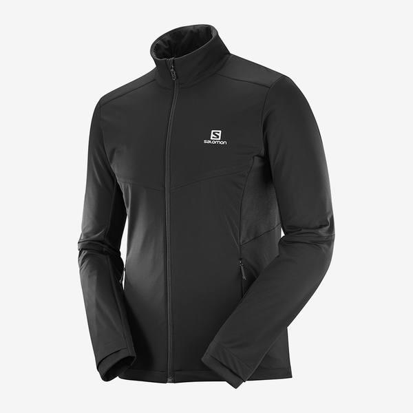 Salomon Agile Warm Jacket Musta