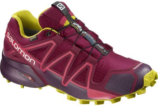 Salomon Speedcross 4 Gtx Women'S Dark Red