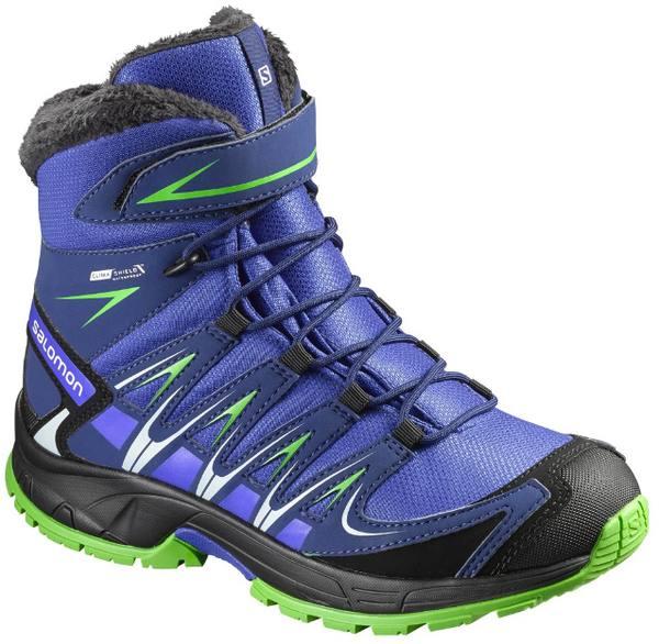 Salomon XA Pro 3D Winter TS CSWP J Kids Shoes SPX
