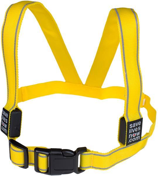 Save Lives Now Flash L. Usb Vest Sr