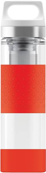 Sigg Hot & Cold Glass Red