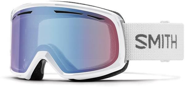 Smith Drift White/Blue Sensor Mirror Lens