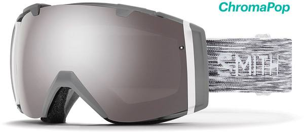 Smith I/O Cloudgrey Sun Platinum Mirror