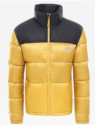 The North Face Nuptse Iv Gold