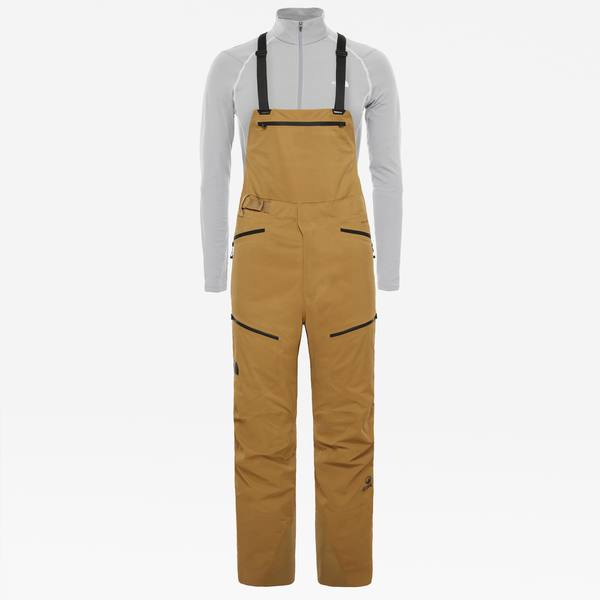 The North Face Purist Bib Pants Khaki