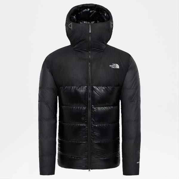 The North Face Summit L6 Down Belay Parka Musta