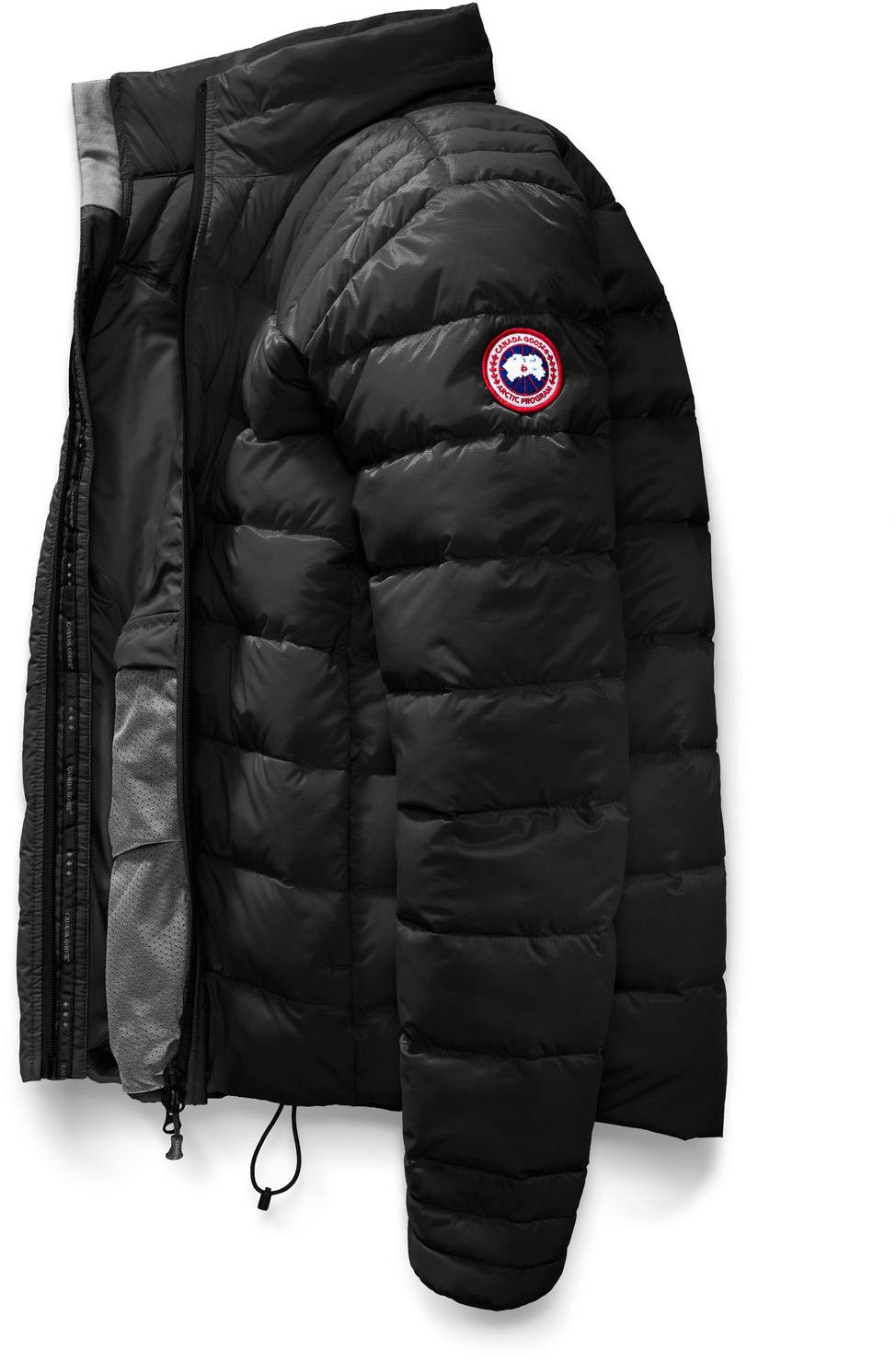 canada goose Raincoats Black Graphite