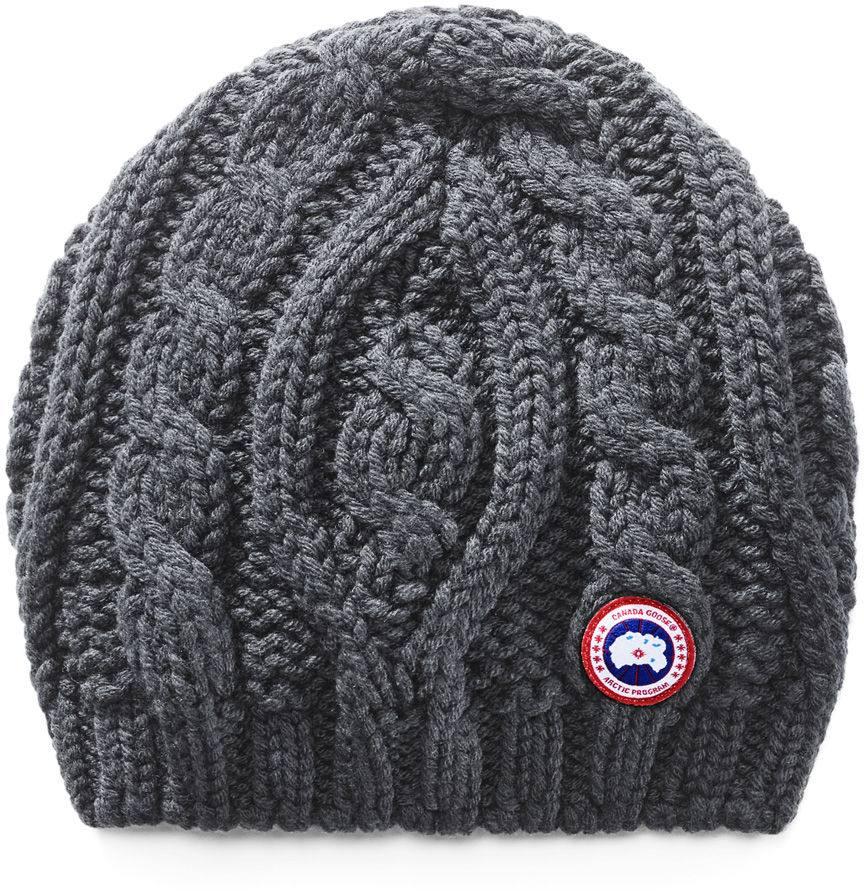 c3a4ba4b275fe Canada Goose Chunky Cable Knit Beanie