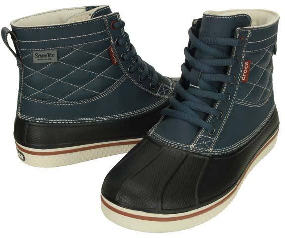 1f4e93180 Crocs Allcast Wp Duck Boot Dark Blue. Full image