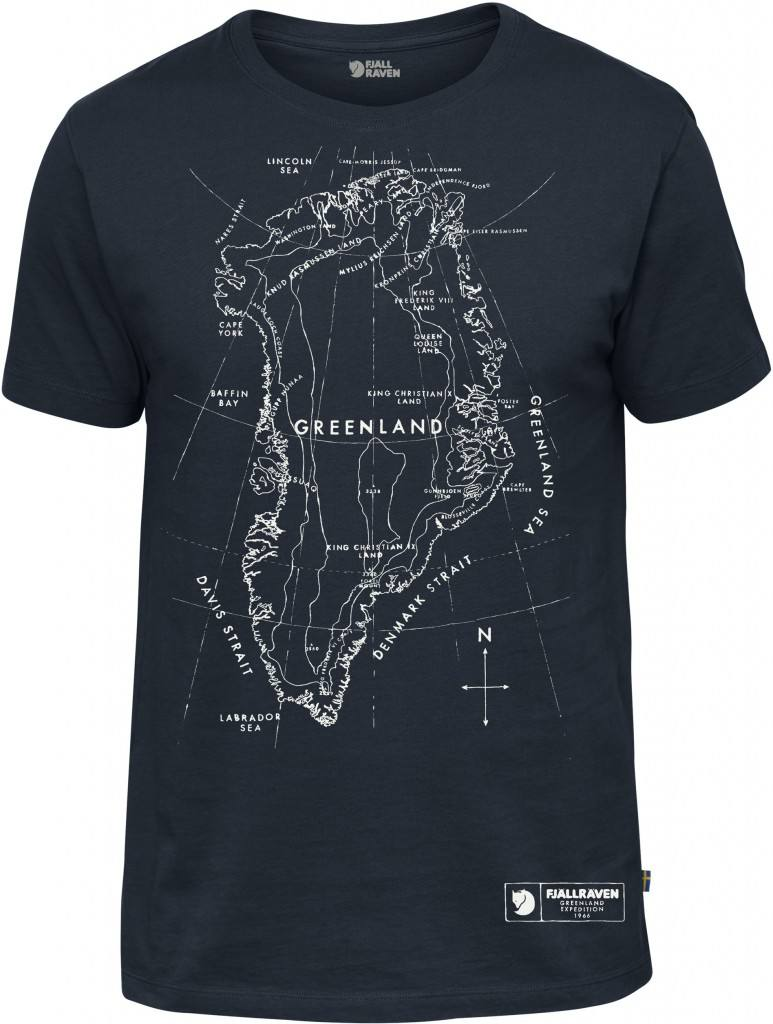 Fjllrven Greenland Printed T Shirt Scandinavian Outdoor