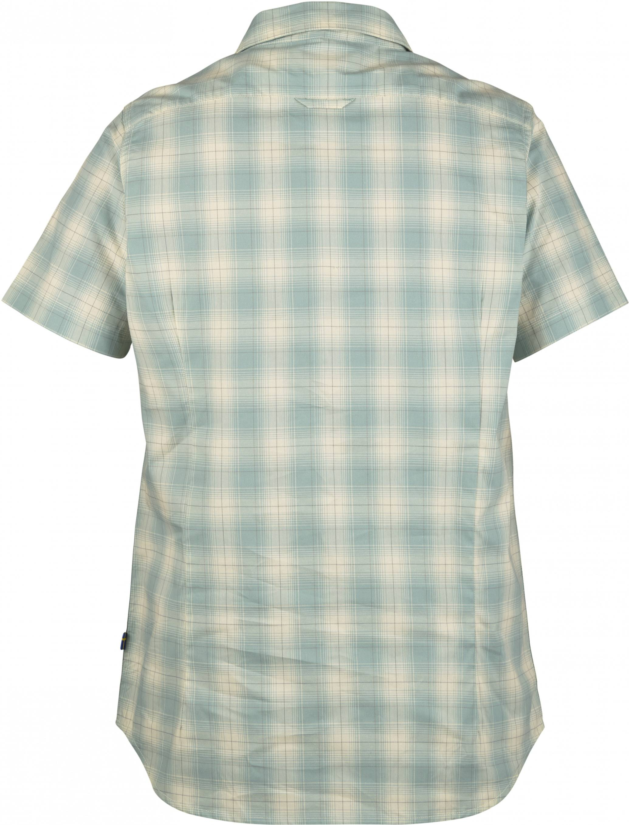 4e4b17f3100 Fjällräven Övik Check Shirt SS Women's | Scandinavian Outdoor