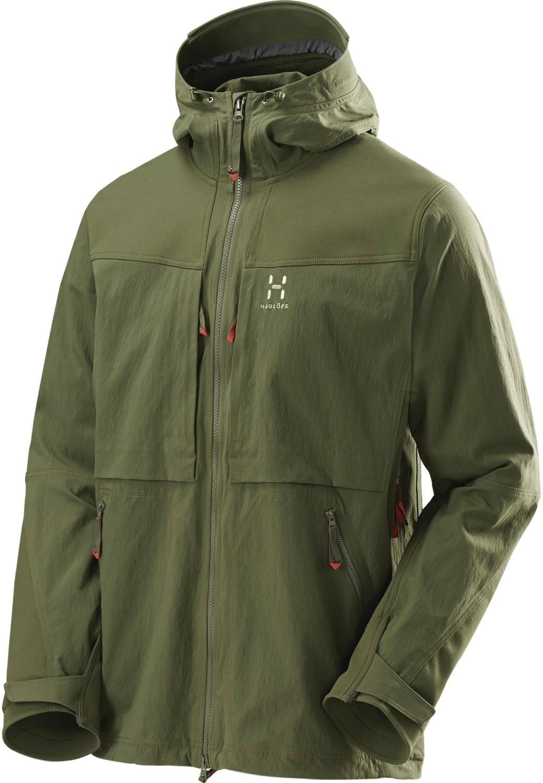 Haglöfs Rugged Fjell Jacket Men Dark Green Full Image