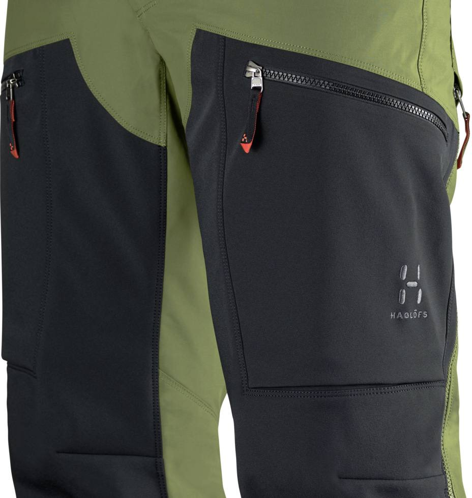 Haglöfs Rugged Mountain Pro Pant Men Dark Green Full Image