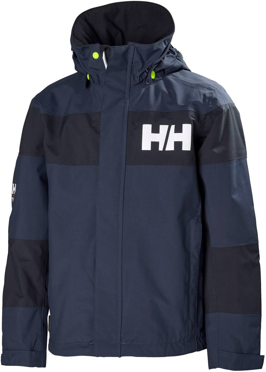 6c33c038 Helly Hansen Jr Salt Port Jacket Dark Blue. Full image ...