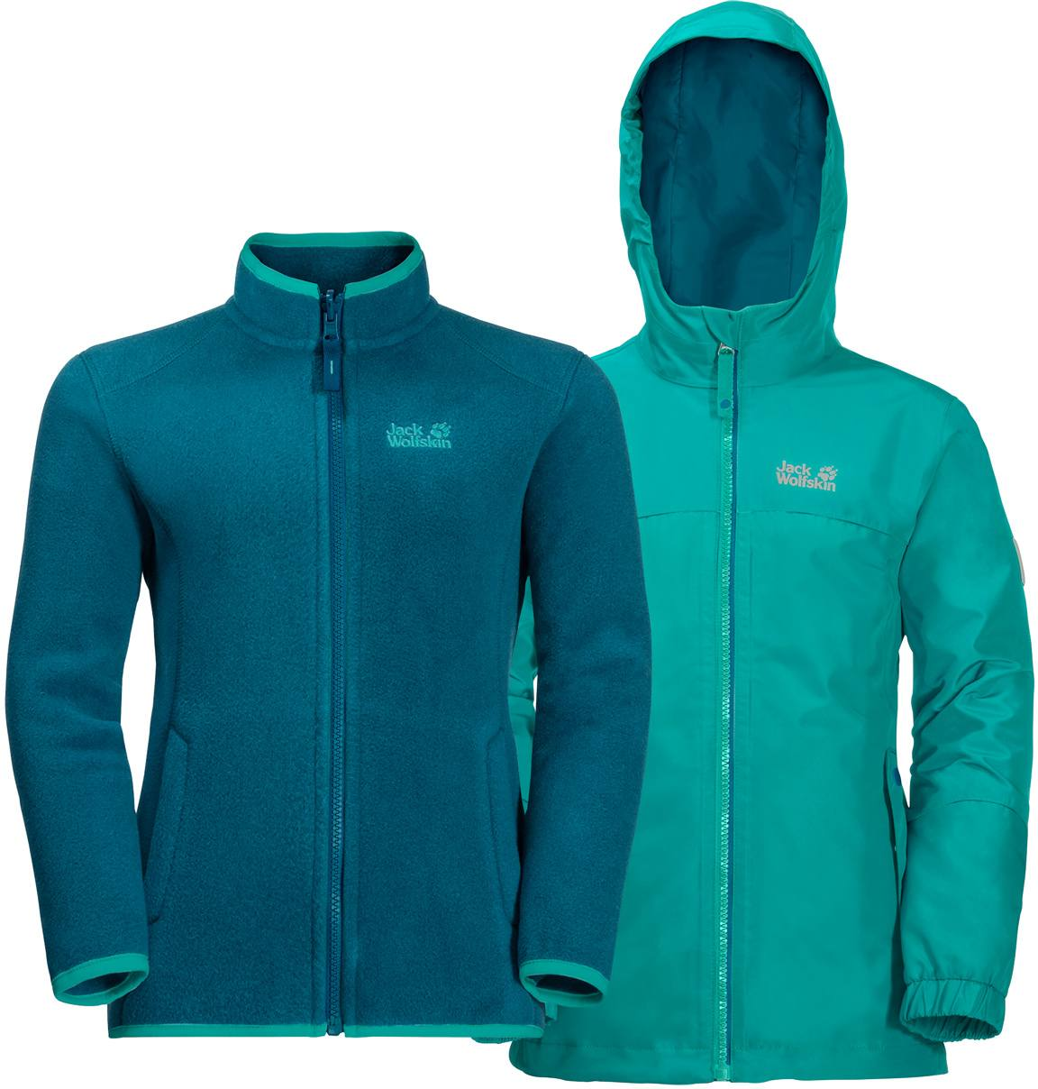 latest discount new arrive free shipping Jack Wolfskin Iceland 3In1 Jkt B