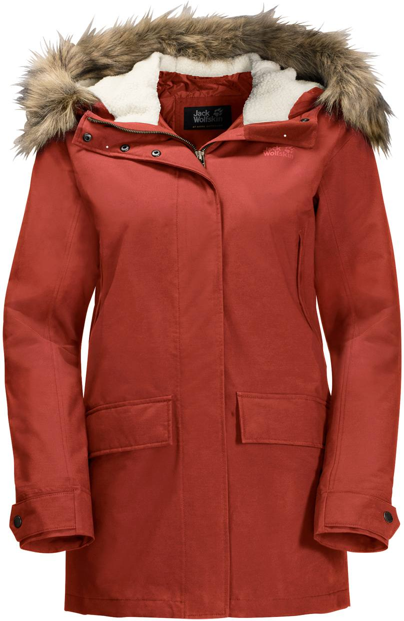 11fdf34822a Show Winter jackets and parkas from all manufacturers · Jack Wolfskin. Jack  Wolfskin Helsinki Jacket Women'S Mexican Pepper. Full image