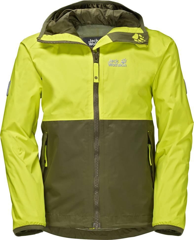 cb8bbe1bf Jack Wolfskin Rainy Days Texapore Jacket Boys Light Green. Full image Full  image