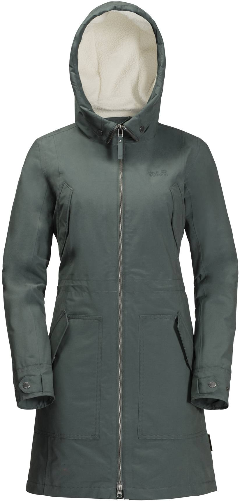 3dcef2d56d6 Jack Wolfskin Rocky Point Parka Greenish Grey. Full image