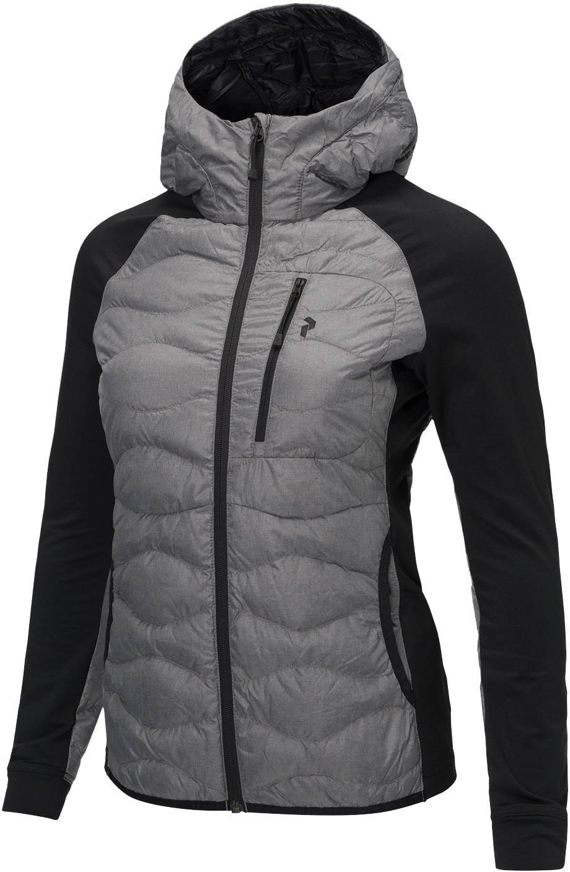 Peak Performance Women s Helium Hybrid Melange Hooded Jacket ... 87f206fea6